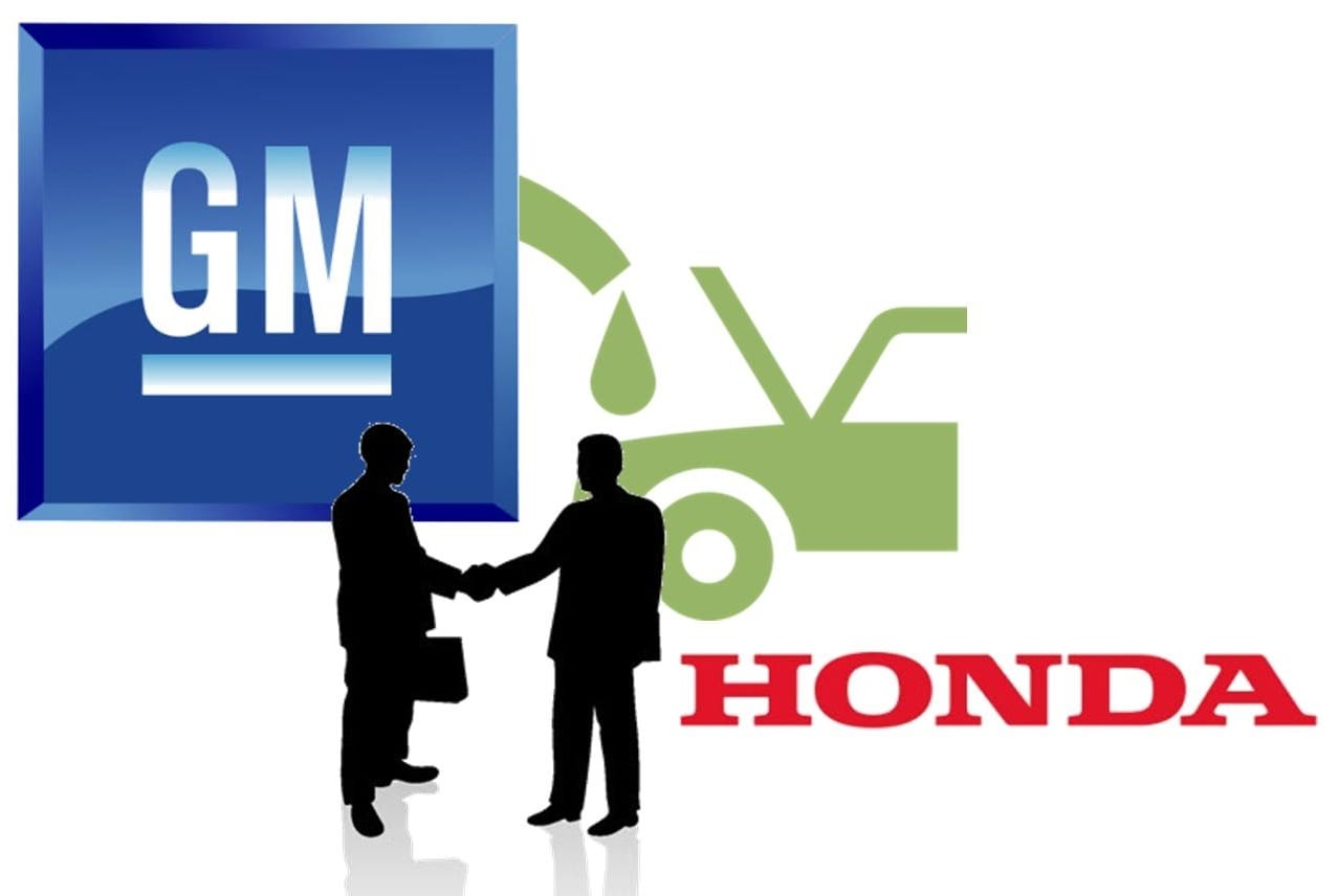 Hydrogen Fuel Cell Vehicles - GM and Honda