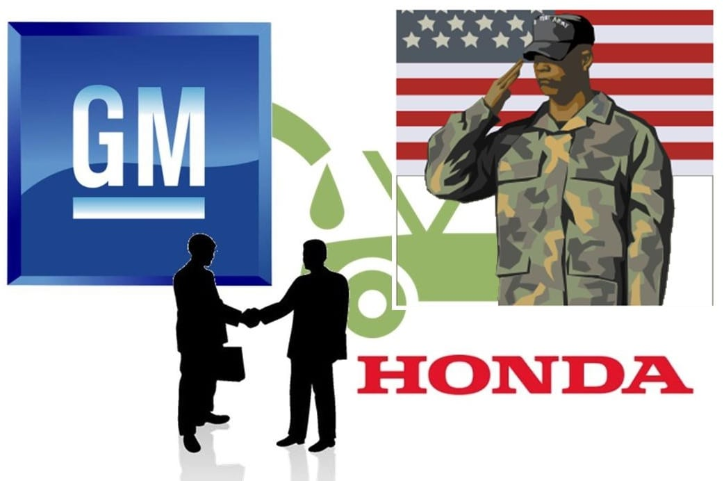 Army may be involved in GM and Honda hydrogen fuel partnership