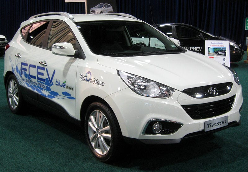 Hyundai - Hydrogen Fuel Cell Vehicle