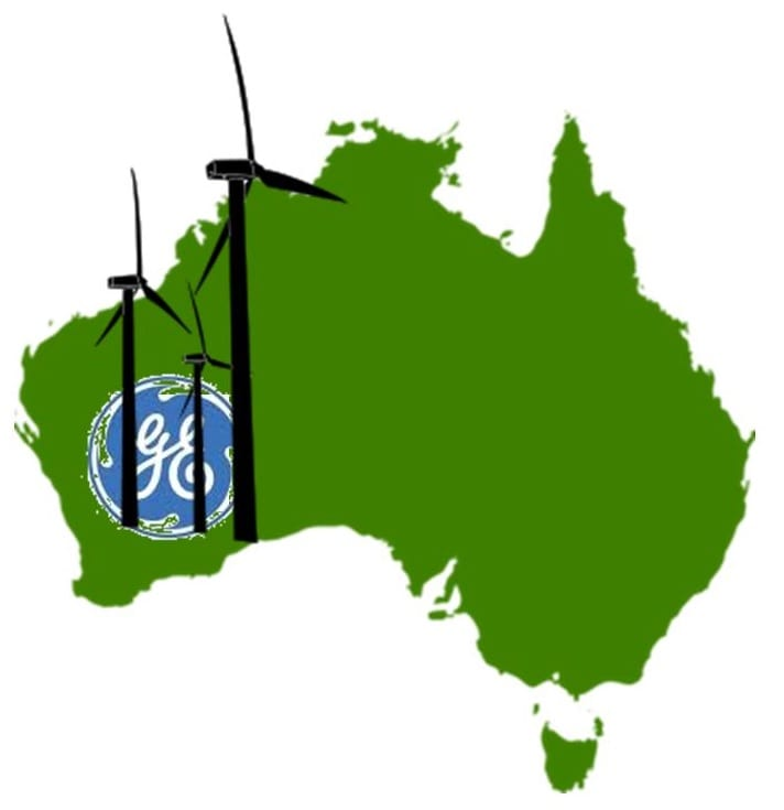 GE to deliver turbines to wind energy system in Australia