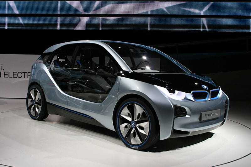 BMW and hydrogen fuel - BMW i3 electric vehicle