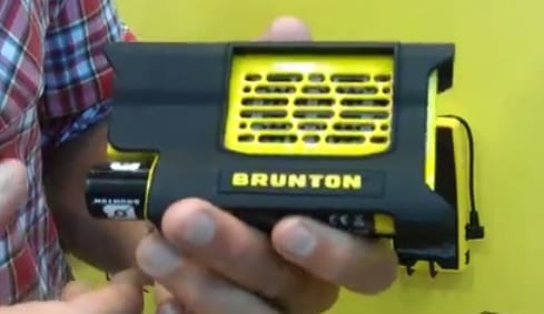 Portable hydrogen fuel cell unveiled by Brunton