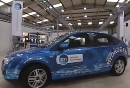 ITM Power - Hydrogen Fuel Vehicle