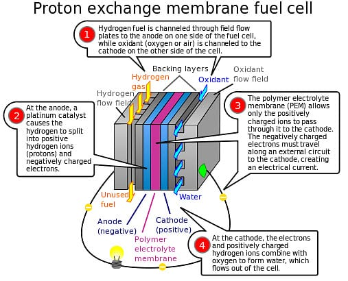 Hydrogen Fuel - Proton exchange membrane  fuel cell