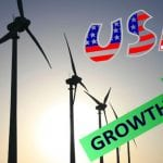 Wind energy shows strong growth in the US