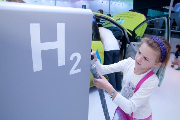 Hydrogen Infrastructure - hydrogen fuel station