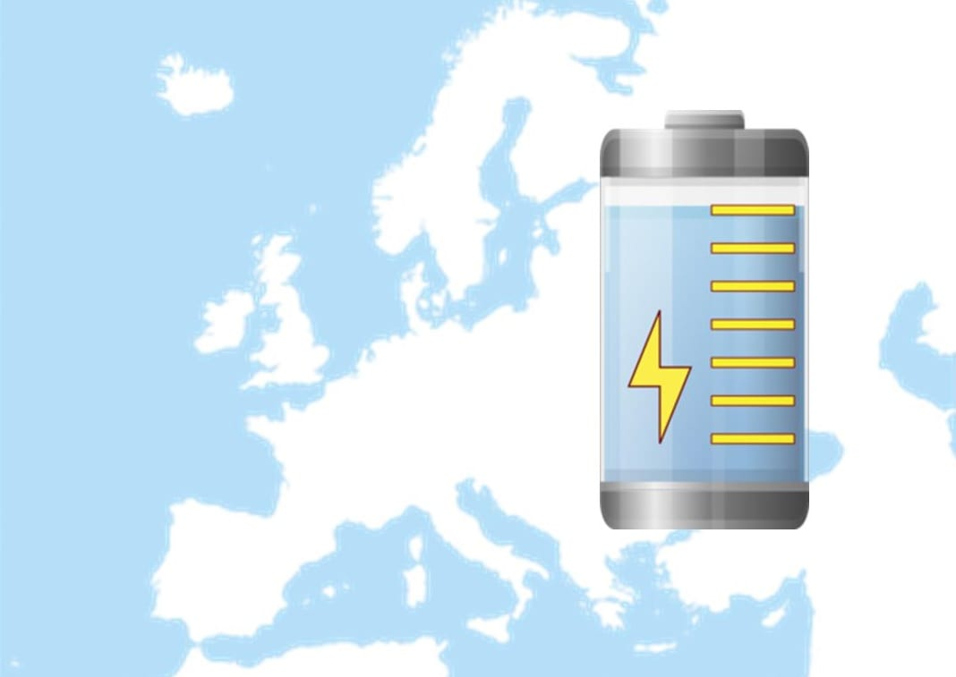 New energy storage project launched in Europe