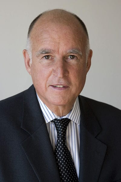 Governor Jerry Brown - Solar Energy Support