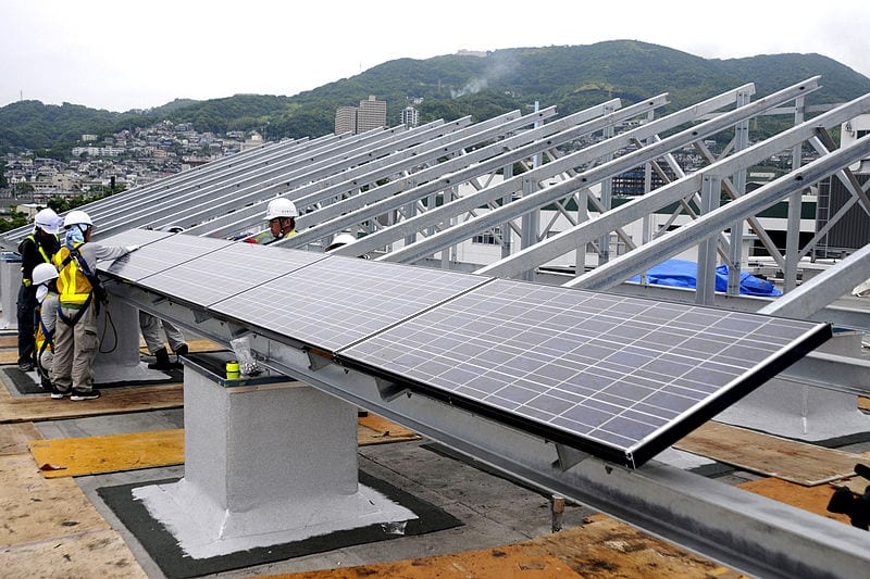 Solar energy developer sets sights on Japan