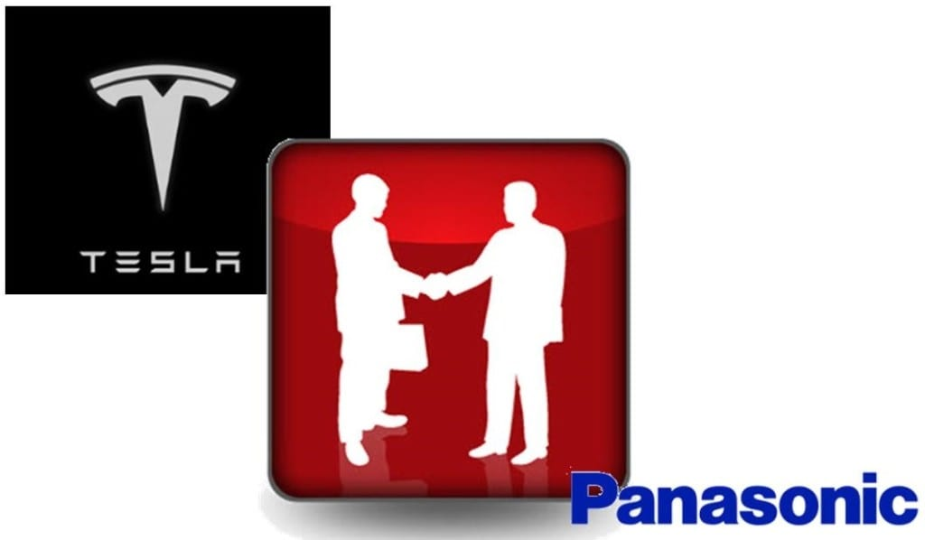 Tesla and Panasonic Partnersip - Electric Vehicles