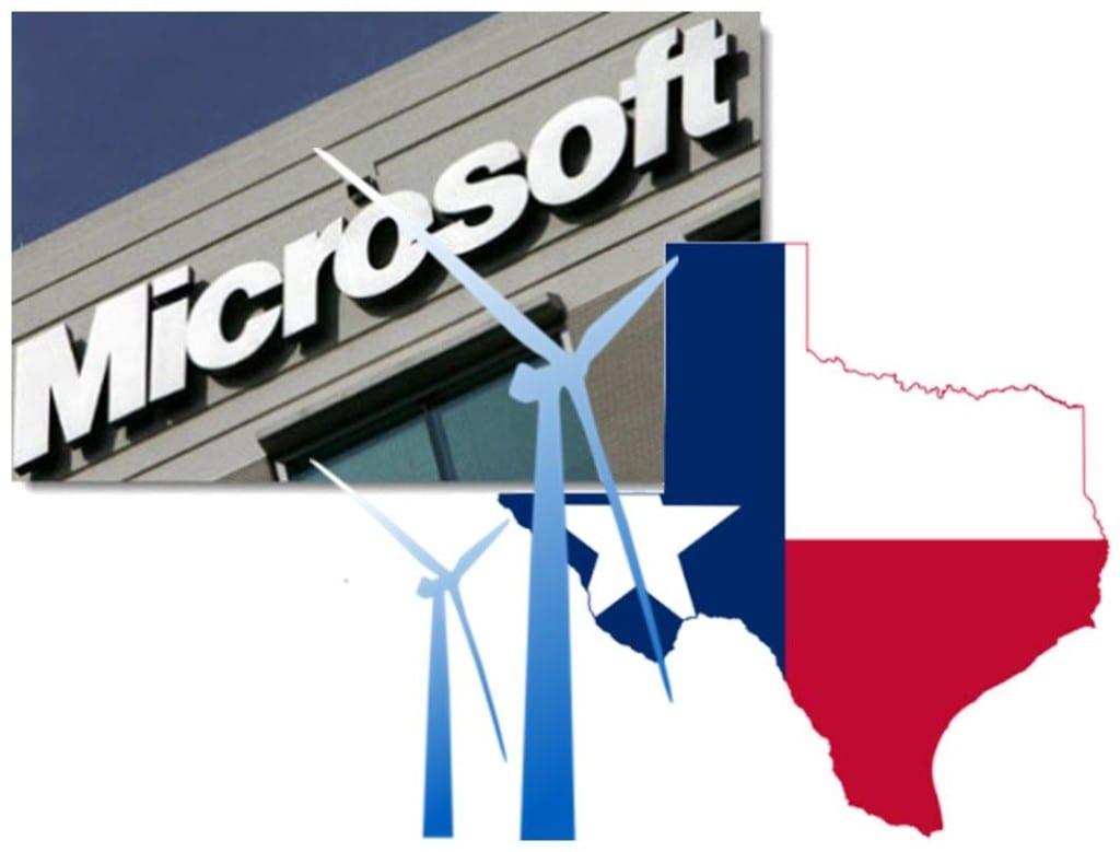 Wind Energy - Microsoft & Texas