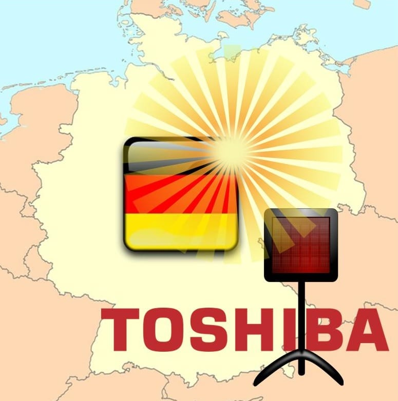 German Solar Energy Market and Toshiba