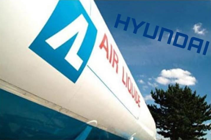 Air Liquide is the first to own hydrogen fuel vehicles from Hyundai