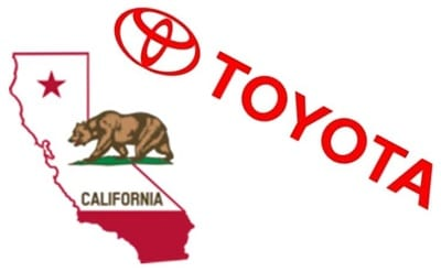 Hydrogen fuel Infrastructure - Toyota and California
