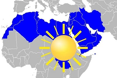 MENA region supports solar energy