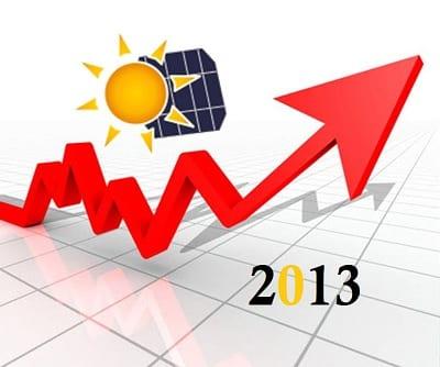 Solar Energy Capacity 2013