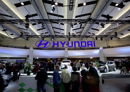 Hyundai brings hydrogen fuel vehicle to California