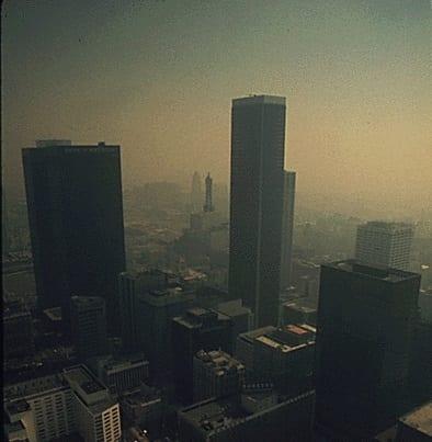 Green technology - air pollution California