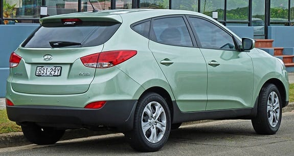 Hydrogen Fuel - Hyundai ix35