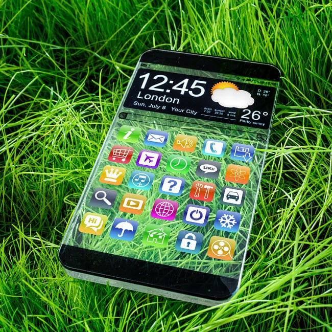 Mobile technology reduces carbon emissions