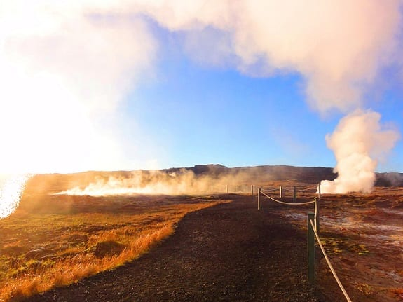 Geothermal Energy - Geothermal Wells Iceland