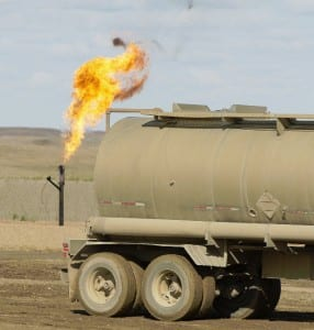 fracking natural gas drill
