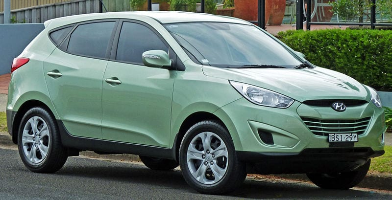 fuel cell vehicle - Hyundai ix35