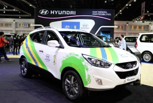 hyundai - Hydrogen Fuel Vehicle