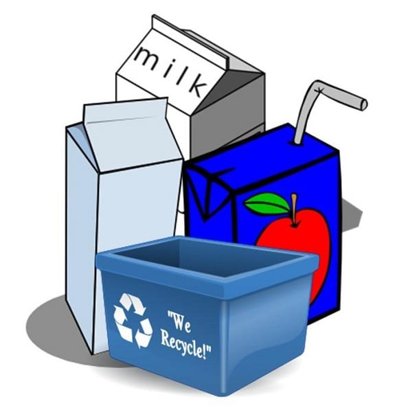 EU Recycling - beverage carton recycling rates