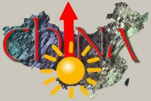 Solar energy soars in China