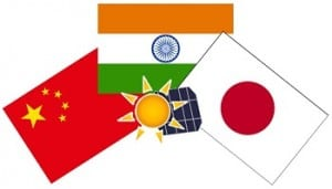 Solar Energy Demand - China, India & Japan