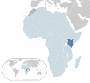 Geothermal Energy - Kenya on map