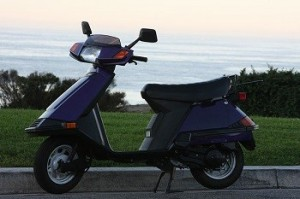 Hydrogen Fuel - Image of Scooter