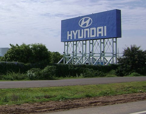 Hydrogen Fuel Cells - Hyundai Sign