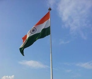 Hydrogen Fuel - Flag of India