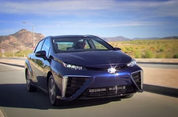 Hydrogen Fuel - Toyota Mirai Sedan