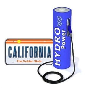 California - Hydrogen Fuel Stations