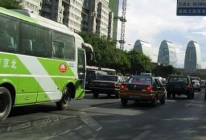 Clean Vehicles - Beijing Traffic