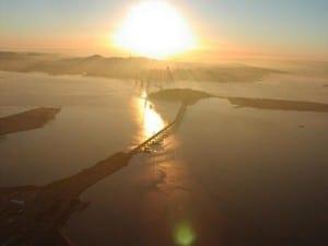 Solar Energy - Sunset in San Francisco