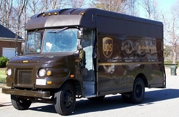 UPS Truck - Alternative Fuel
