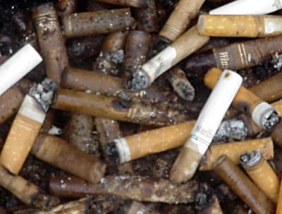 Green Energy Storage - Cigarette Butts