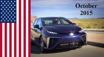 Hydrogen Fuel - Toyota Mirai US Release