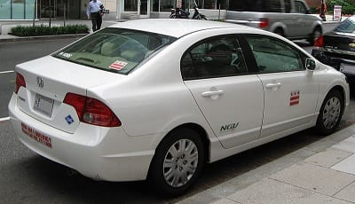 Honda Civic Natural Gas Vehicle