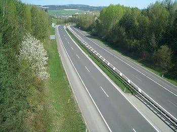 Hydrogen Fuel - Autobahn in Germany