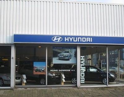 Hydrogen Fuel Cells - Hyundai Showroom