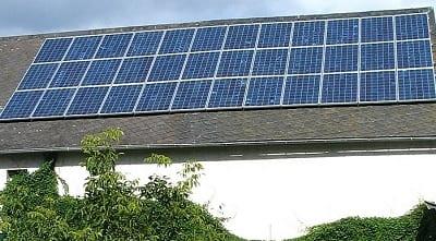 Solar Energy - Solar Panels on house