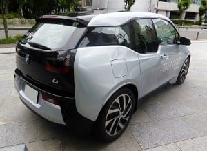 Electric Car Sharing - BMW i3