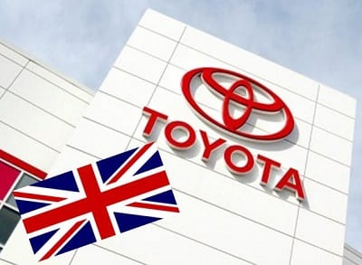 Toyota Hydrogen Fuel & UK