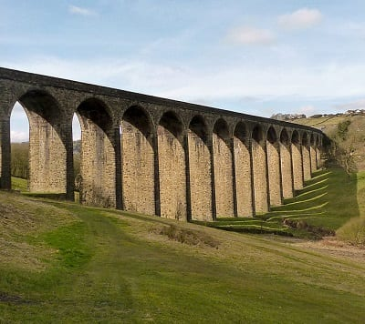 Wind turbine energy - image of Thornton Viaduct