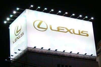 Hydrogen Fuel - Lexus Logo